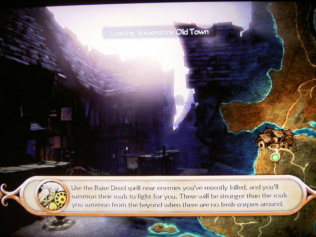 Fable 2's Loading Screen
